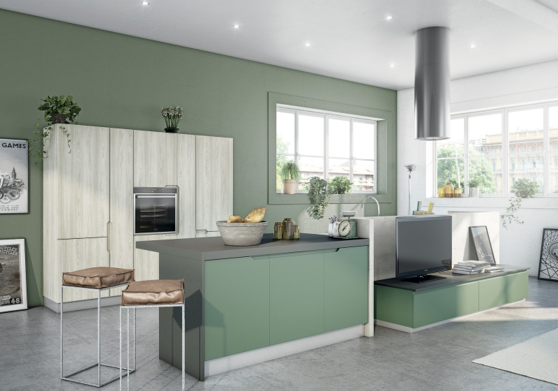 Ideal cucine meeting in the kitchen